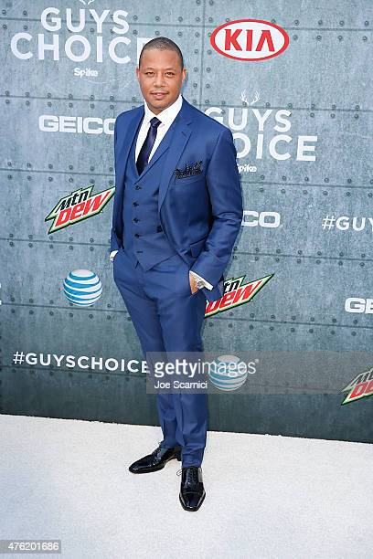 Terrence Howard attends Spike TV's 'Guys Choice 2015' at Sony Pictures Studios on June 6 2015 in Culver City California