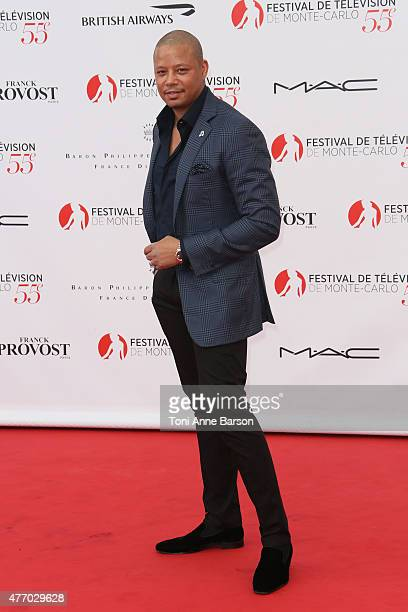 Terrence Howard attends the 55th Monte Carlo TV Festival Opening Ceremony at the Grimaldi Forum on June 13 2015 in MonteCarlo Monaco