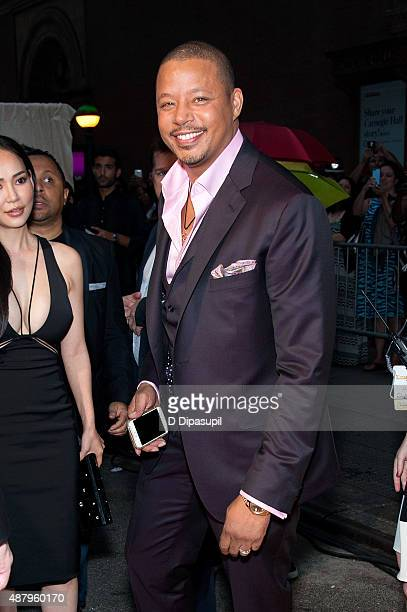 Terrence Howard attends the 'Empire' Series Season 2 New York Premiere at Carnegie Hall on September 12 2015 in New York City