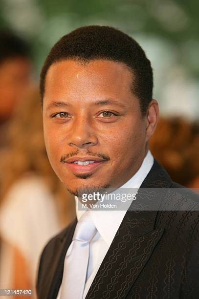 Terrence Howard during 2006 CFDA Fashion Awards Arrivals at New York Public Library in New York City New York United States