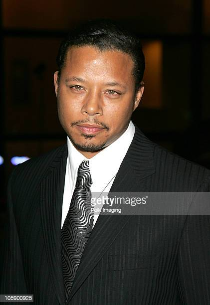 Terrence Howard during 2006 Palm Springs International Film Festival Awards Gala at Palm Springs Convention Center in Palm Springs California United...