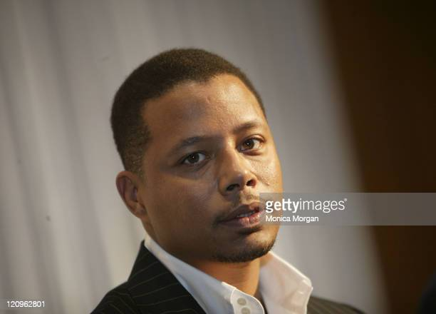 Terrence Howard during Daimler Chrysler JEEP Reveal for NAACP at The Westin Bonaventure at Daimler Chrysler JEEP Reveal at NAACP in Los Angeles...