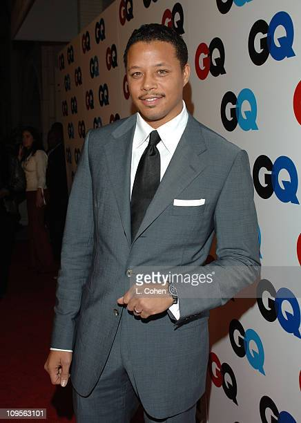 Terrence Howard during GQ Magazine Celebrates the 2005 Men of the Year Red Carpet at Mr Chow in Beverly Hills California United States