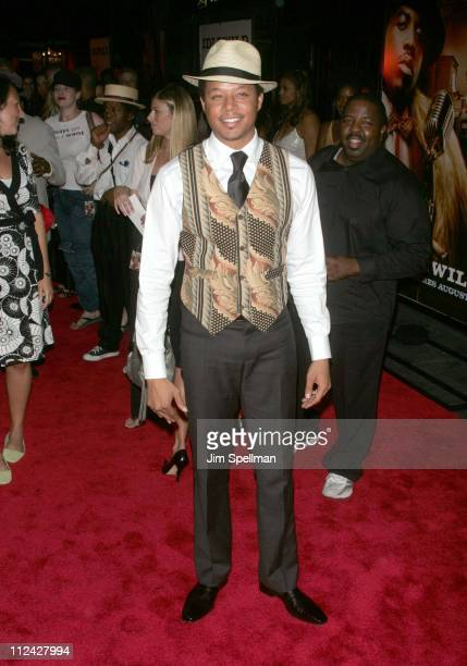 Terrence Howard during 'Idlewild' New York Premiere Outside Arrivals at Ziegfeld Theater in New York City New York United States