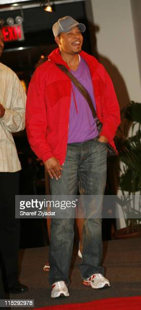 Terrence Howard during 'KrucialKeyscom' Launch Party Arrivals at The Loft in New York City New York United States