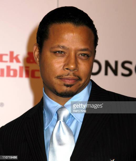 Terrence Howard during Lionsgate and Showtime Host A Celebration For The Golden Globe Nominees 'Crash' and 'Weeds' at Mortons in Los Angeles...