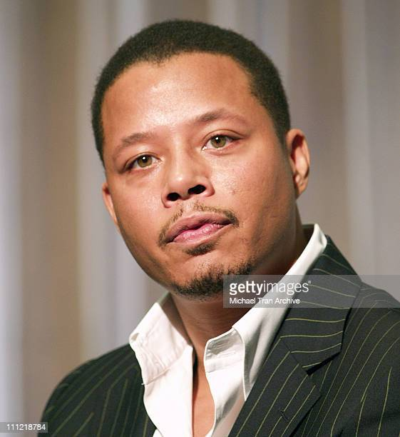 Terrence Howard during Terrence Howard 'My Custom Style' Press Conference at Westin Bonaventure Hotel in Los Angeles California United States