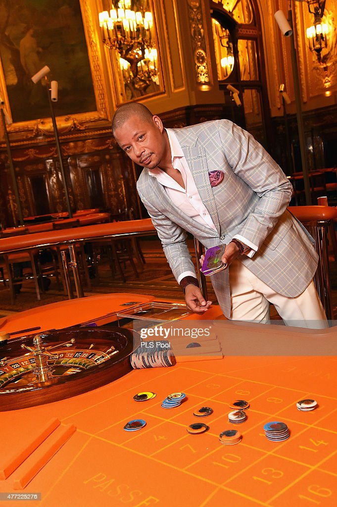 Terrence Howard form the 'Empire' TV Series attends a photo session at the Monaco casino on June 15, 2015 in Monte-Carlo, Monaco.