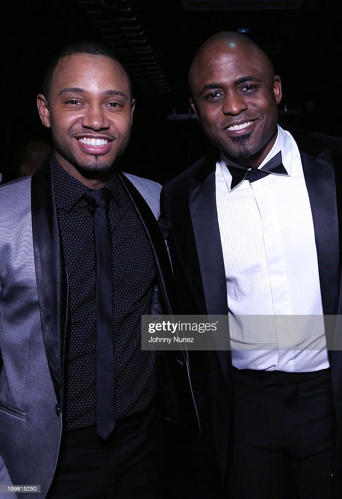 <a gi-track='captionPersonalityLinkClicked' href=/galleries/search?phrase=Terrence+J&family=editorial&specificpeople=4419581 ng-click='$event.stopPropagation()'>Terrence J</a> and <a gi-track='captionPersonalityLinkClicked' href=/galleries/search?phrase=Wayne+Brady+-+Actor&family=editorial&specificpeople=217495 ng-click='$event.stopPropagation()'>Wayne Brady</a> attend The Hip-Hop Inaugural Ball II at Harman Center for the Arts on January 20, 2013 in Washington, DC.