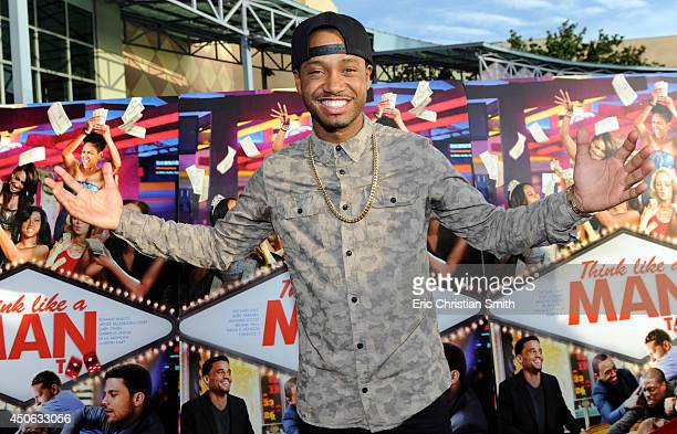 Terrence J attends Sony Pictures 'Think Like A Man Too' Houston Red Carpet Screening With Kevin Hart Terrence J And Drake at Studio 30 June 14 2014...