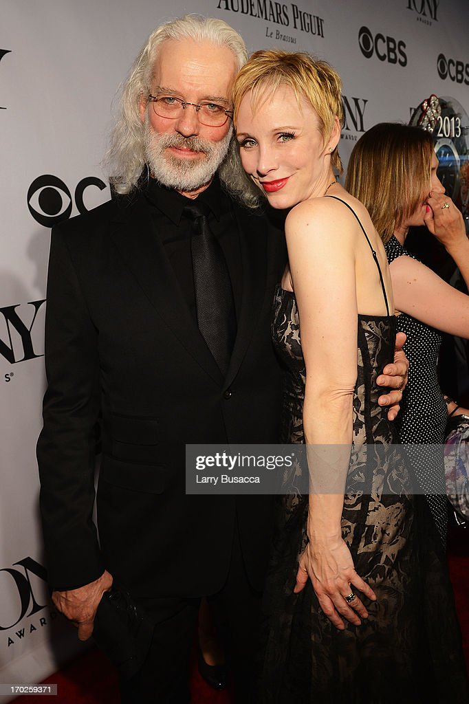 Terrence Mann and Charlotte d'Amboise attend The 67th Annual Tony Awards at Radio City Music Hall on June 9 2013 in New York City