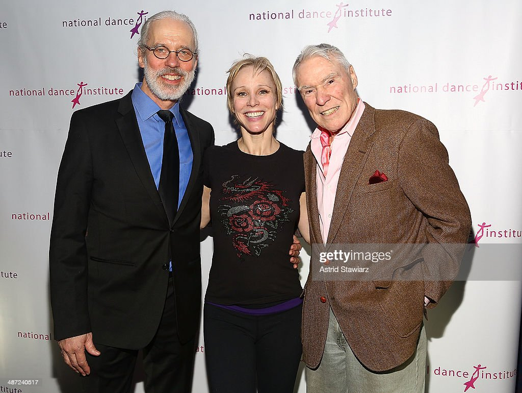 Terrence Mann Charlotte d'Amboise and Jacques d'Amboise attend the 2014 National Dance Institute Annual Gala at Best Buy Theater on April 28 2014 in...