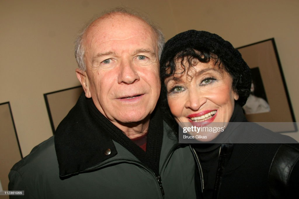 Terrence McNally and Chita Rivera during Chita Rivera 'A Dancer's Life' on Broadway 'Gypsy' InvitationOnly Performance at The Schoenfeld Theater in...