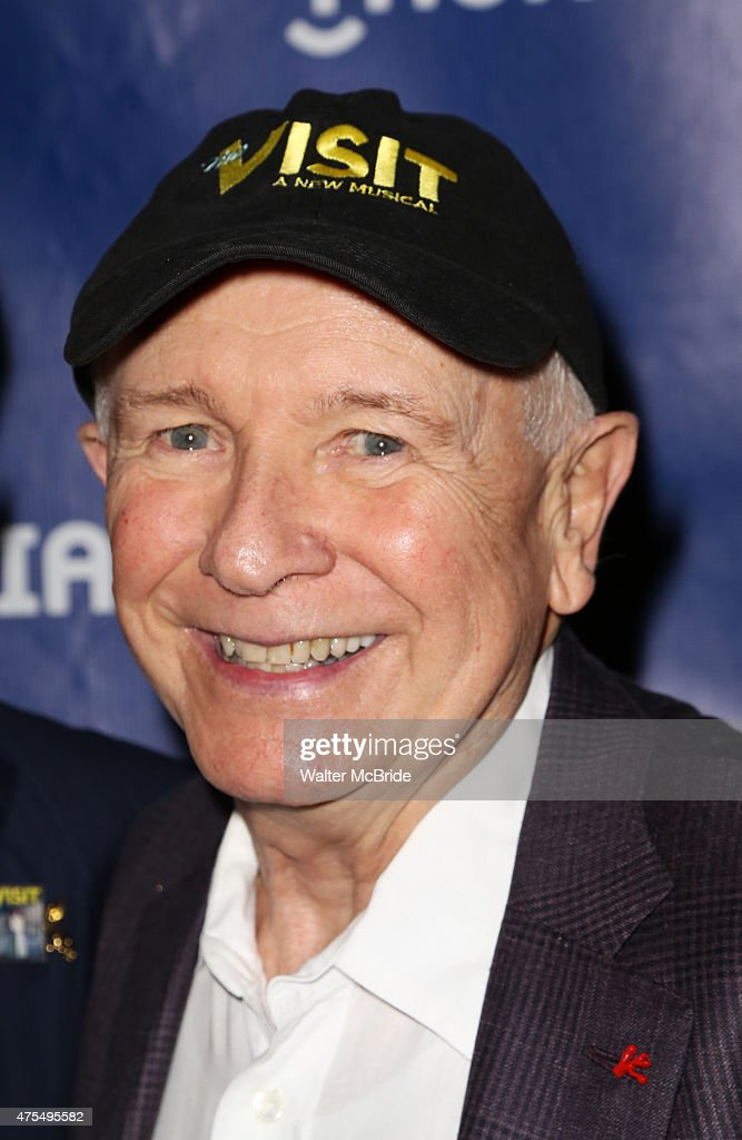 Terrence McNally attends the 2015 Drama Desk Awards at Town Hall on May 31, 2015 - terrence-mcnally-attends-the-2015-drama-desk-awards-at-town-hall-on-picture-id475495582