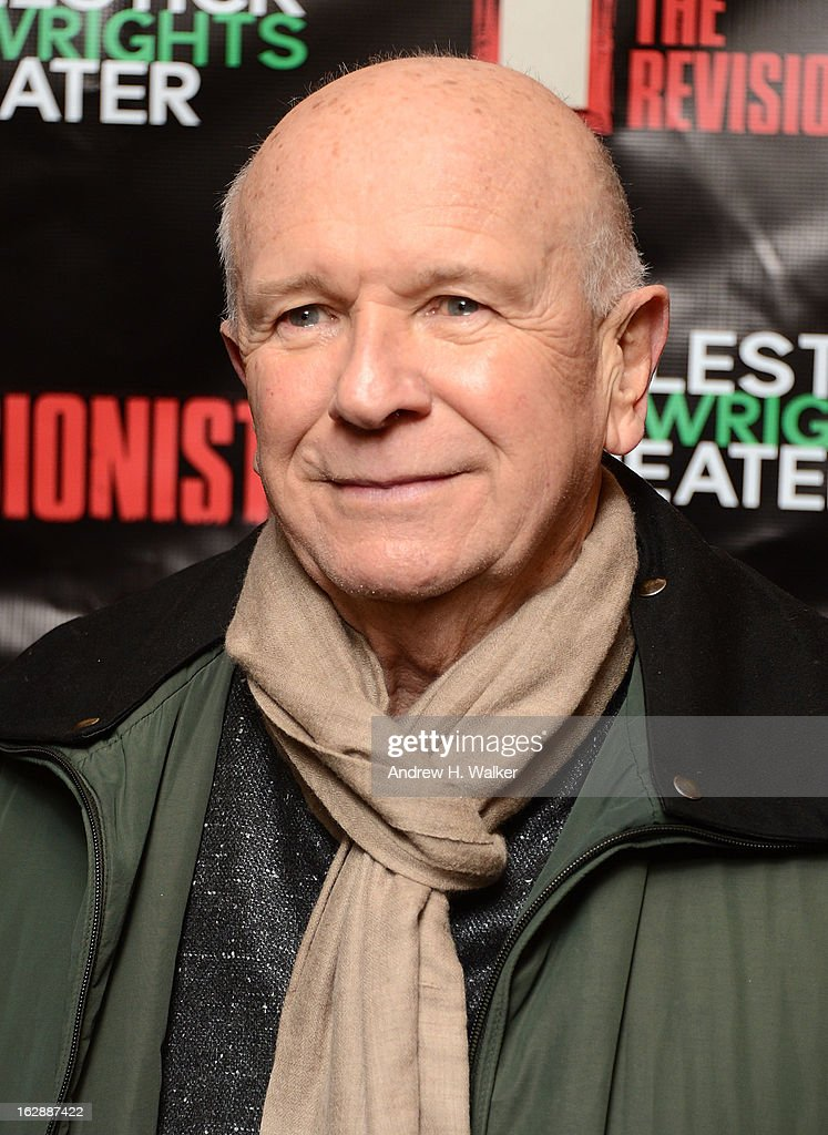 Terrence McNally attends 'The Revisionist' opening night at Cherry Lane Theatre on February 28, 2013 in New York City.