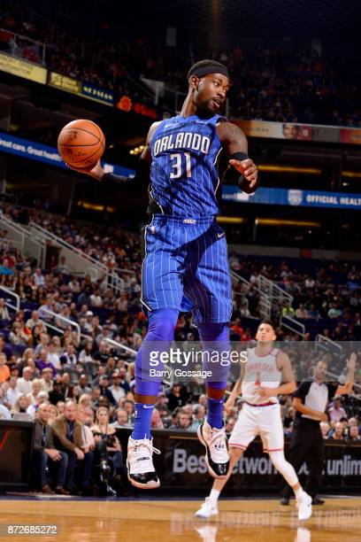 Terrence Ross of the Orlando Magic handles the ball against the Phoenix Suns on November 10 2017 at Talking Stick Resort Arena in Phoenix Arizona...