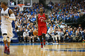 Terrence Ross of the Toronto Raptors at American Airlines Center on November 3 2015 in Dallas Texas NOTE TO USER User expressly acknowledges and...