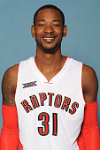 Terrence Ross of the Toronto Raptors poses for a photo during 2014 Raptors Media Day at the Air Canada Centre in Toronto Ontario Canada NOTE TO USER...