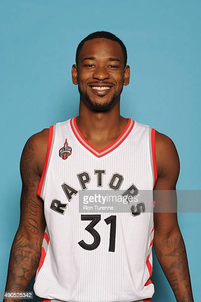 Terrence Ross of the Toronto Raptors poses for a photo during media day on September 28 at the Air Canada Centre in Toronto Ontario Canada NOTE TO...