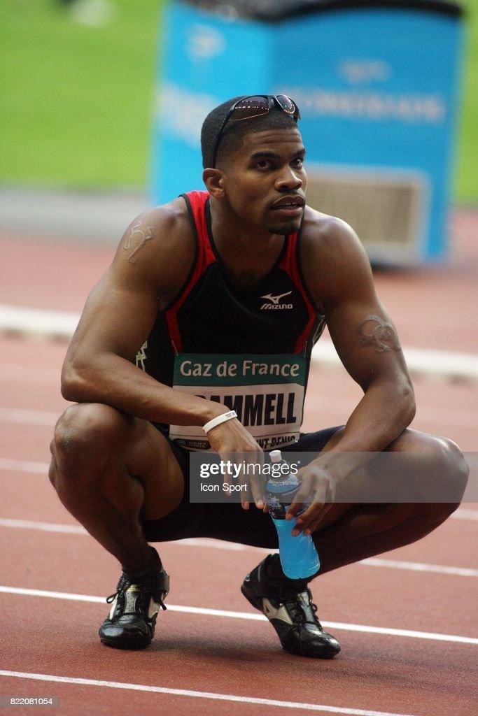Terrence TRAMMELL - - 110 metres haies - Meeting Gaz de France - Golden League,