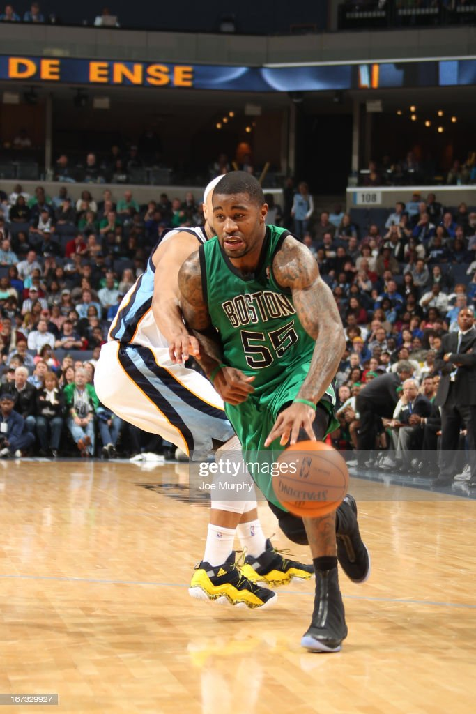 <a gi-track='captionPersonalityLinkClicked' href=/galleries/search?phrase=Terrence+Williams&family=editorial&specificpeople=666450 ng-click='$event.stopPropagation()'>Terrence Williams</a> #55 of the Boston Celtics drives to the basket against the Memphis Grizzlies on March 23, 2013 at FedExForum in Memphis, Tennessee.