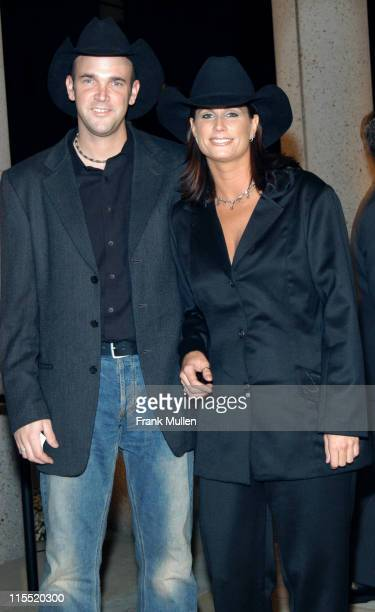 Terri Clark and Kevin Post during 2003 BMI Country Music Awards at BMI Nashville in Nashville Tennessee United States