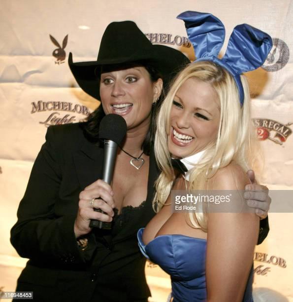 Terri Clark and Playboy Playmate Stephanie Heinrich