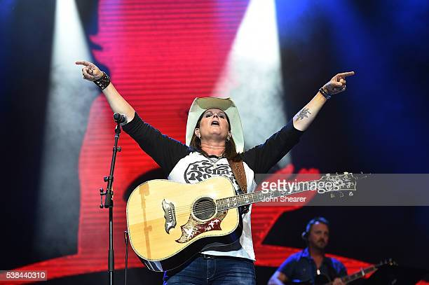 Terri Clark performs at the 7th Annual 'Darius And Friends' Concert at Wildhorse Saloon on June 6 2016 in Nashville Tennessee