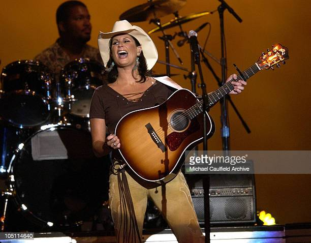 Terri Clark performs 'I Just Wanna Be Mad' during 38th Annual Academy of Country Music Awards Show at Mandalay Bay Event Center in Las Vegas Nevada...