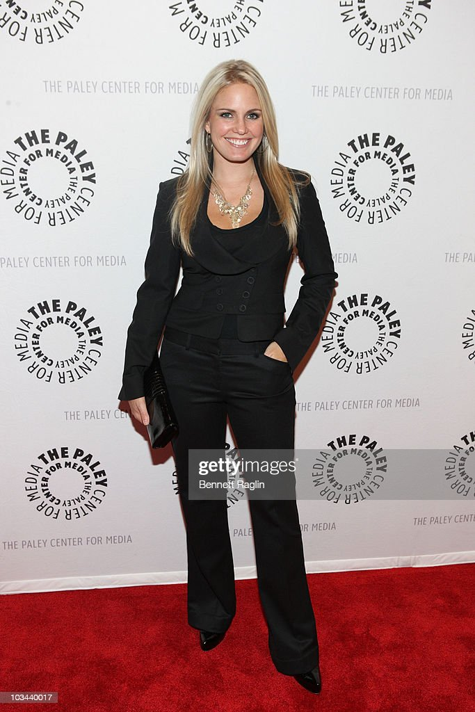 Terri Colombino attends a farewell to cast of 'As The World Turns' at The Paley Center for Media on August 18, 2010 in New York City.