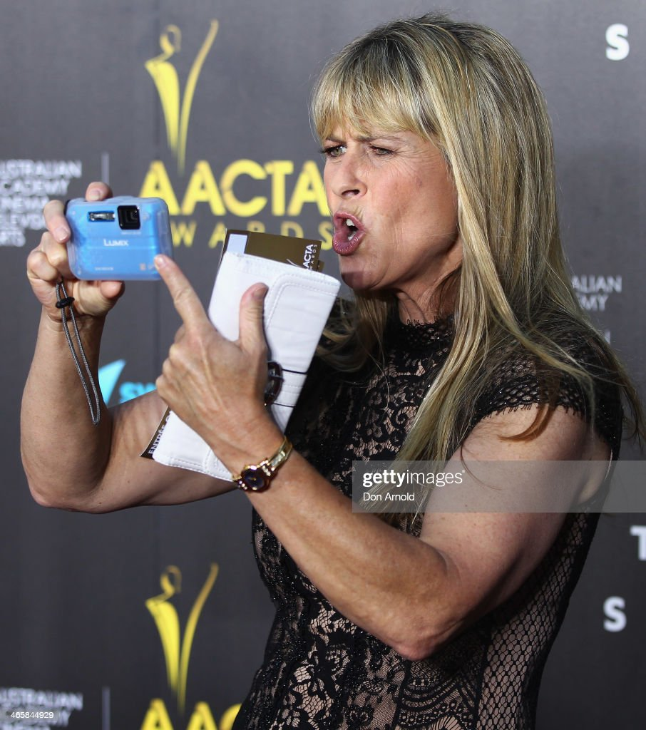 <a gi-track='captionPersonalityLinkClicked' href=/galleries/search?phrase=Terri+Irwin&family=editorial&specificpeople=3090462 ng-click='$event.stopPropagation()'>Terri Irwin</a> arrives at the 3rd Annual AACTA Awards Ceremony at The Star on January 30, 2014 in Sydney, Australia.