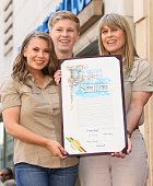 Steve Irwin Honored Posthumously With Star On The...