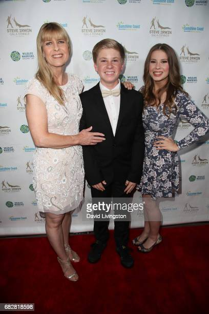 Terri Irwin Robert Irwin and Bindi Irwin attend the Steve Irwin Gala Dinner at the SLS Hotel at Beverly Hills on May 13 2017 in Los Angeles California