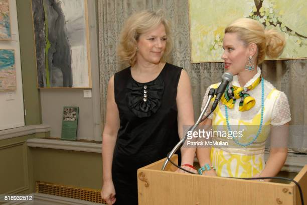 Terri Lindvall and MichelleMarie Heinemann attend MICHELLEMARIE HEINEMANN and TERRI LINDVALL'S Lecture and Private Dinner to benefit the YORKVILLE...