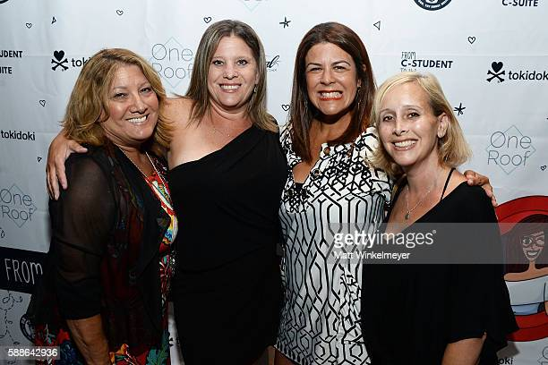 Terri Preis Kendy Walther Christy Salcido Lynn Friedman attend the book launch for 'From CStudent to the CSuite Leveraging Emotional Intelligence' at...