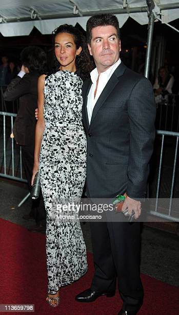 Terri Seymour and Simon Cowell during 32nd Annual Daytime Emmy Awards Arrivals at Radio City Music Hall in New York City New York United States