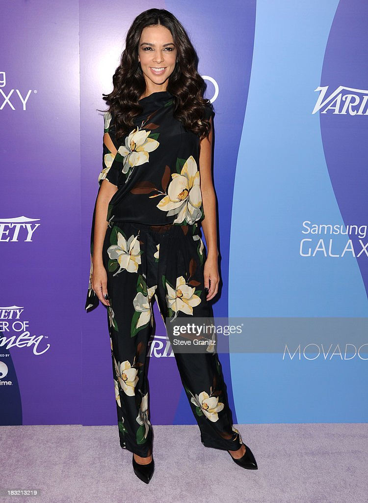 Terri Seymour arrives at the Variety's 5th Annual Power Of Women Event at the Beverly Wilshire Four Seasons Hotel on October 4, 2013 in Beverly Hills, California.