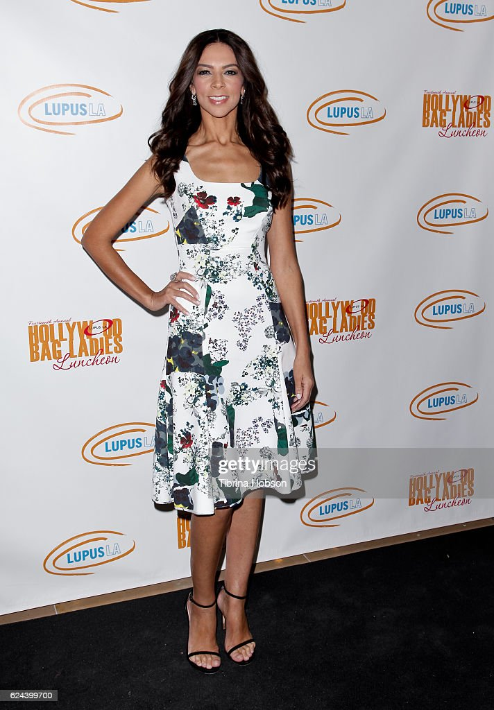 Terri Seymour attends the 14th annual Lupus LA Hollywood Bag Ladies Luncheon at The Beverly Hilton Hotel on November 18, 2016 in Beverly Hills, California.