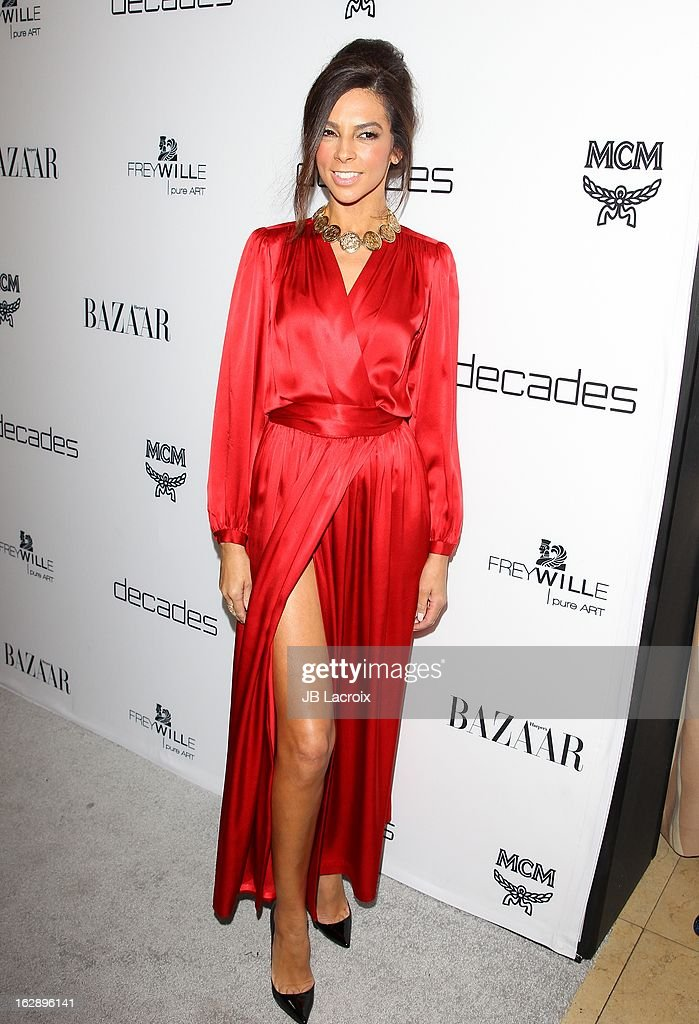 Terri Seymour attends the Dukes Of Melrose launch hosted by Decades and Harper's BAZAAR at The Terrace at Sunset Tower on February 28, 2013 in West Hollywood, California.