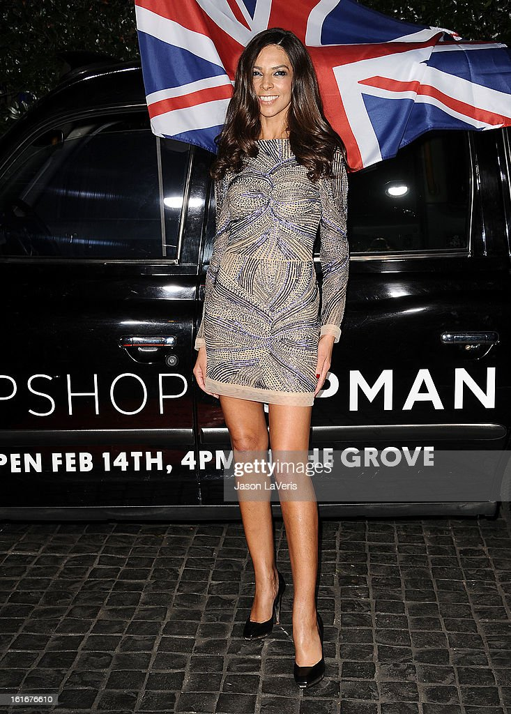 Terri Seymour attends the Topshop Topman LA flagship store opening party at Cecconi's Restaurant on February 13, 2013 in Los Angeles, California.