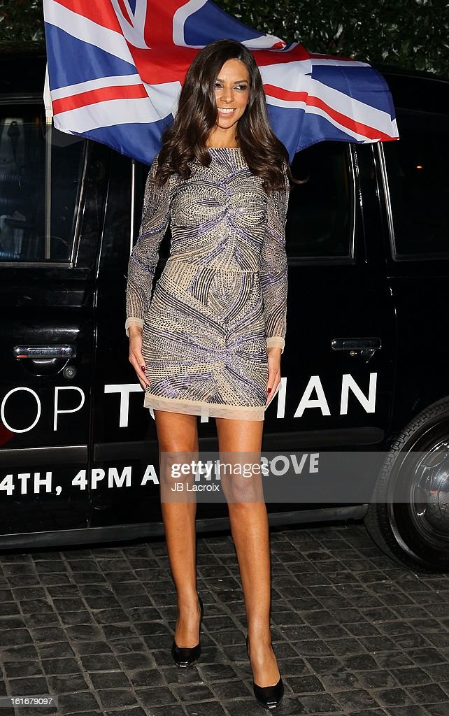Terri Seymour attends the Topshop Topman LA Opening Party held at Cecconi's Restaurant on February 13, 2013 in Los Angeles, California.