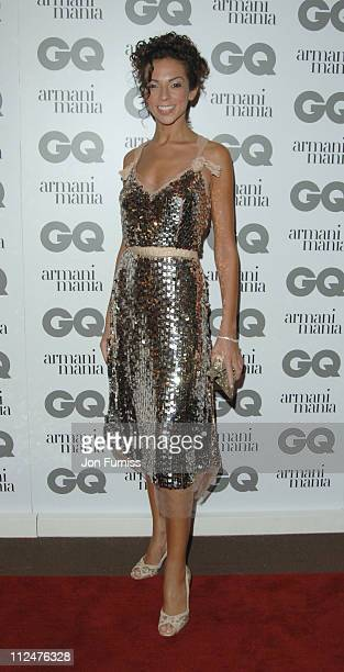 Terri Seymour during 2005 GQ Men of the Year Awards Inside Arrivals at Royal Opera House in London Great Britain