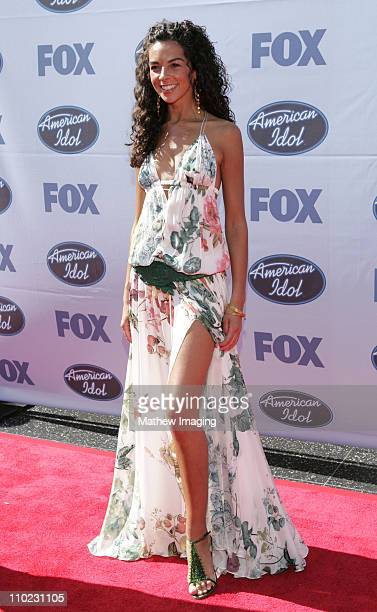 Terri Seymour during 'American Idol' Season 4 Finale Arrivals at The Kodak Theatre in Hollywood California United States