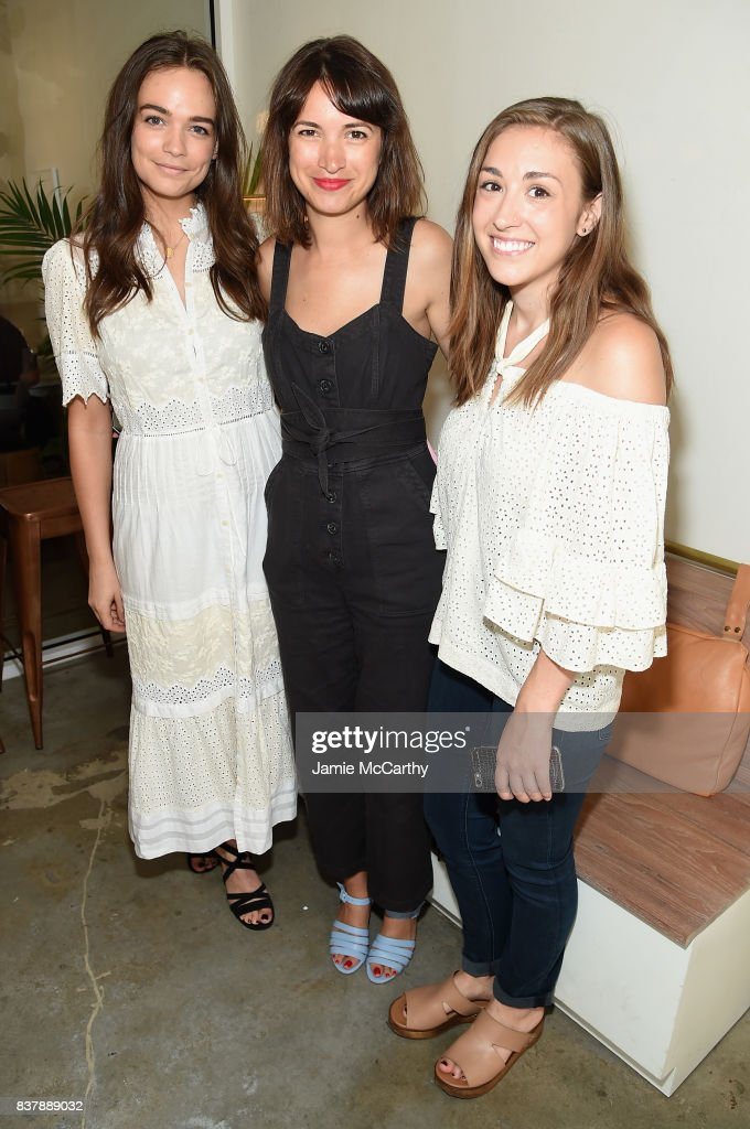 Terri Wolfe (C) attends the Eberjey x Rebecca Taylor Launch Event at Chillhouse on August 23, 2017 in New York City.