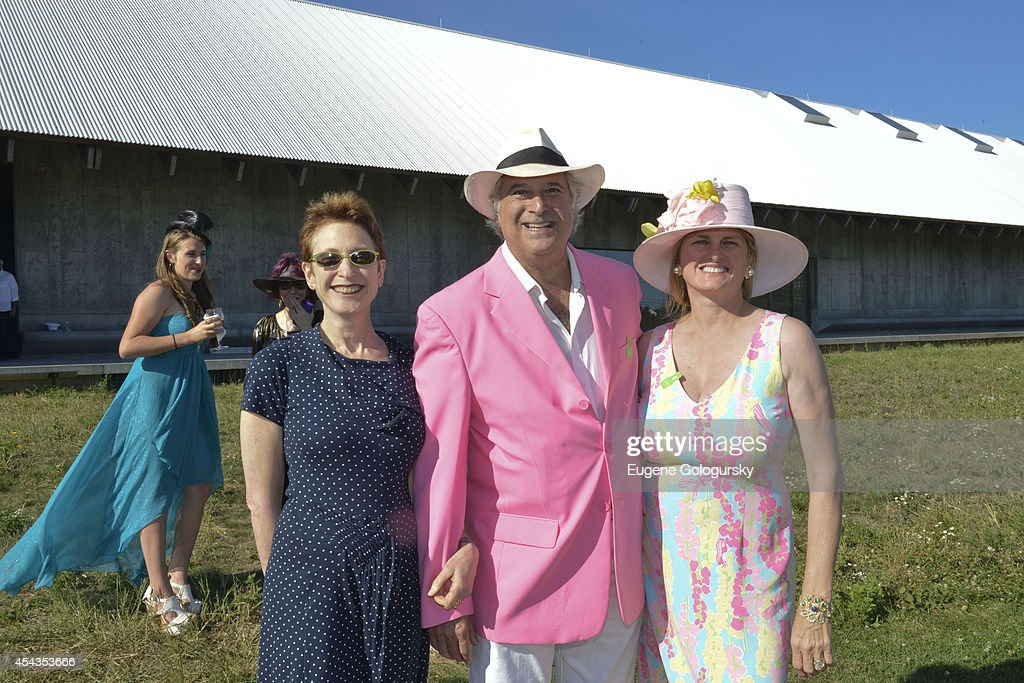 Terrie Sultan, Stewart F. Lane and Bonnie Comley attend the Naming Celebration For Stewart F. Lane & Bonnie Comley Event Lawn at the Parrish Art Museum on August 29, 2014 in Water Mill, New York.