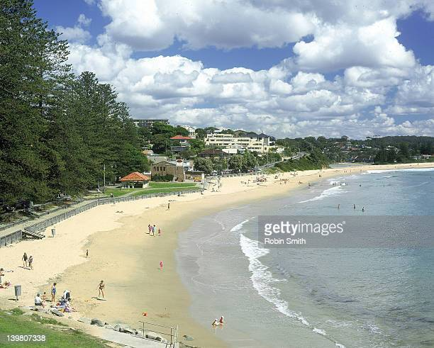 Terrigal Beach & view of town, Central Coast, New South Wales, Australia