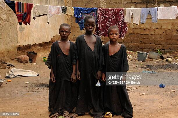 Terror Islamist In North Mali Causes A Flood Of Refugee In Bamako And In The South Erik Orsenna Special Envoy For 'Paris Match' Bamako Mali 21...