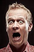 Terror Scream Portrait