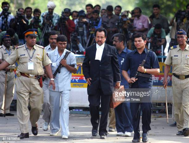Terror Trial Abbas Kazmi a lawyer newly appointed by the court to represent Mohammad Ajmal Kasab