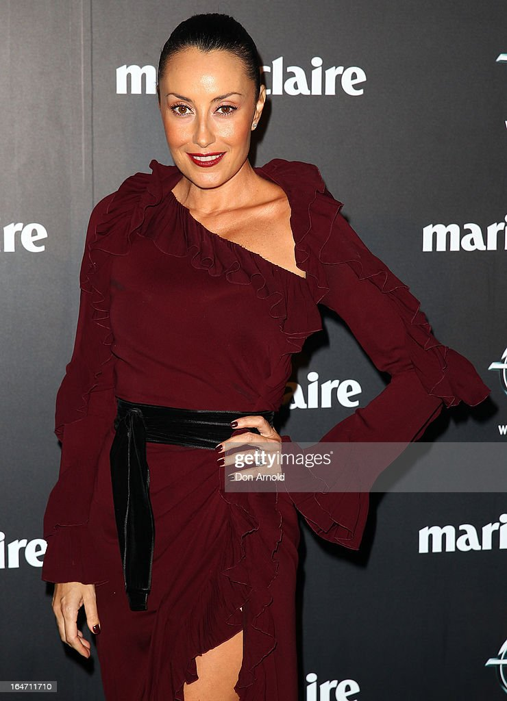 Terri Biviano arrives at the 2013 Prix de Marie Claire Awards at the Star on March 27, 2013 in Sydney, Australia.